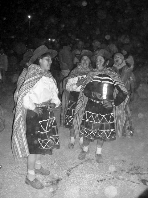 danza de los llameritos de chumpi