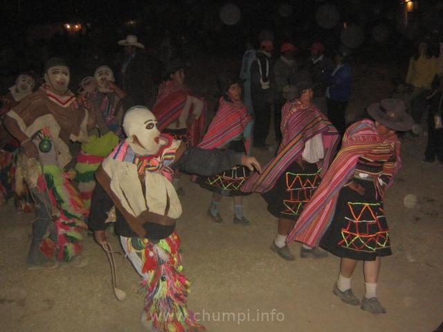 danza de los llameritos chumpi